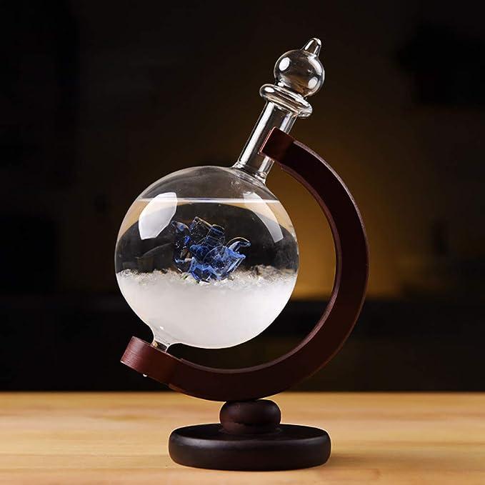 Sturmglas Wetterglas Luftdruck Wetterstation Inneneinrichtungen Crystal Bottle