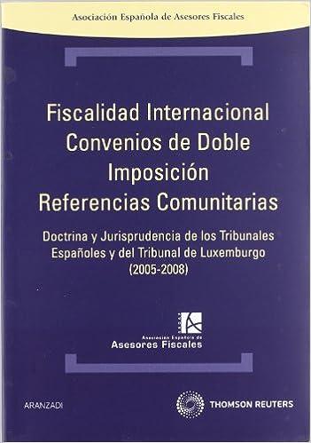 Fiscalidad internacional. Convenios de doble imposición