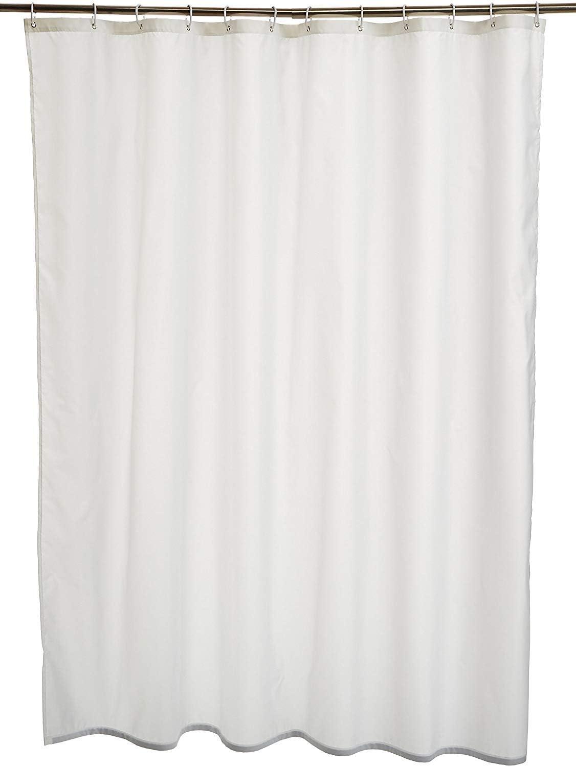 180cm Yardwe Tenda da Doccia Impermeabile Trasparente per Tenda da Doccia 120