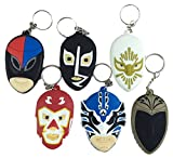 Lucha Libre Rubber Keychains Corona Collection Combo