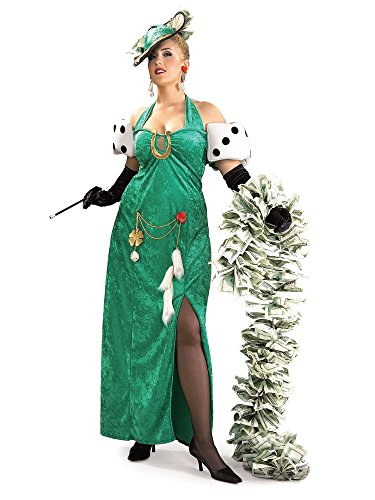 (Rubie's Costume Co. Women's Plus Size Lady Luck Costume, As Shown, One)