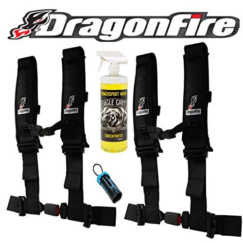 Set of 2 Dragonfire Racing 4-Point 3