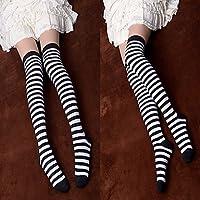 cosplay? Blanco y negro a rayas Punk Lolita