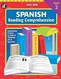 Spanish Reading Comprehension, Level 2, Carson-Dellosa Publishing Staff, 0742402339