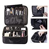 Fashion Makeup Cosmetic Case Beauty Artist Storage Bag Holder Organizer, Multi-compartment, large capacity, you can put a variety of cosmetics and make-up tools.