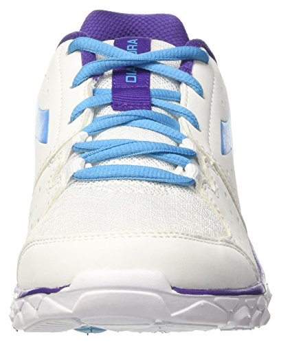 White Off Bianco Blu Running 7 Women's Hawk W Fluo Diadora Shoes xwH0YqF