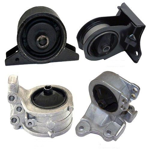 K0040 Fits 2000-2005 Mitsubishi Eclipse 2.4L Engine & Transmission Mount for AUTO 4 PCS : A4602, A6699, A4621, A4612 - Eclipse Motor Mounts
