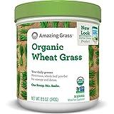 Amazing Grass Organic Wheat Grass, 30 Servings, 8.5 Ounces