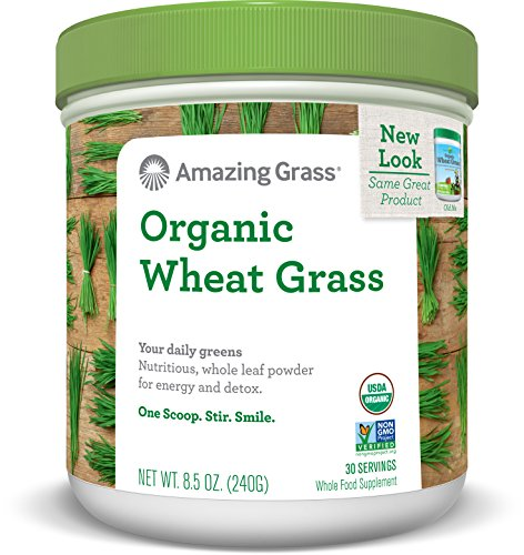Amazing Grass  Organic Wheat Grass Powder 30 Servings, 8.5 Oz