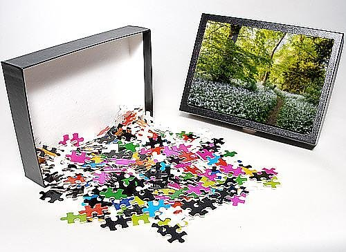 Photo Jigsaw Puzzle of Flowers in a woods near Badbury Hill, Oxford, Oxfordshire, England, United