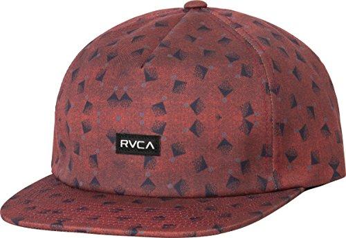 RVCA Men's Partical Five Panel Hat, Carbon, One Size
