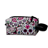 All Products : Suger Skull Pattern Pencil Pen Case Cosmetic Makeup Bag Popular