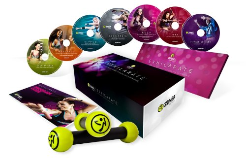 Zumba exhilarate Body Shaping Système DVD Set