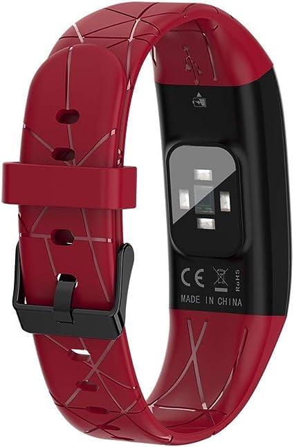 OPAKY Smart Watch Presión Arterial Monitor de Ritmo Cardíaco Sueño Deportes Fitness Rastreador Reloj Inteligente para Deporte,Pulsera Deporte para Android y iOS Teléfono móvil: Amazon.es: Relojes