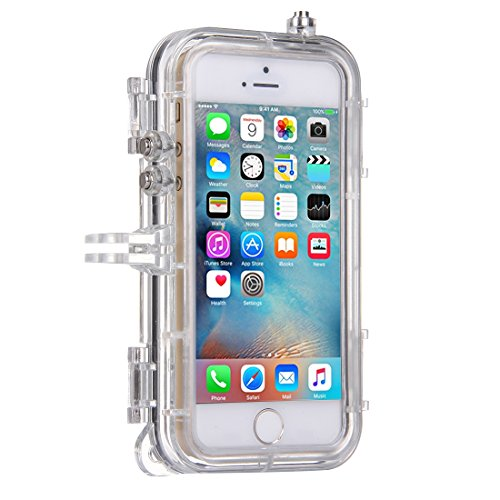FBA-GoPro iPhone 6S Plus, 6 Plus Case Waterproof Cover - Clear