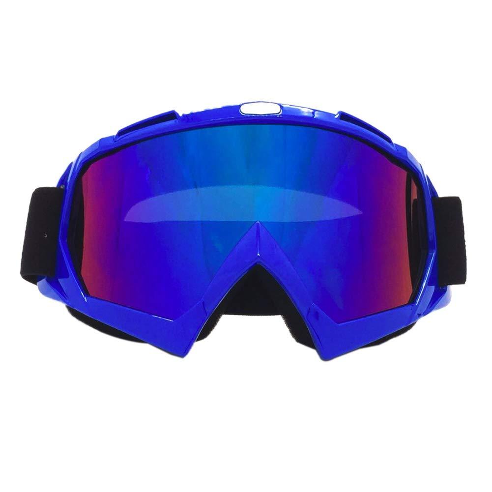 ragazzi e ragazze giovani Leezo ciclismo occhiali donne uomini UV 400/lenti di protezione antivento occhiali motocross skate da moto bicicletta equitazione regolabile per bambini