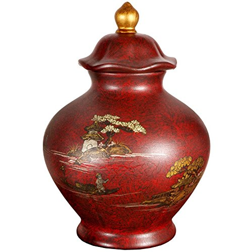 Red Accent Temple (Oriental Furniture 14