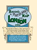 Bacon's up to Date Street Map of London 1902, , 1873590237