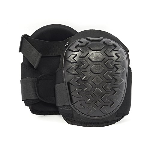 Golden V Professional Gel Knee Pads,for Work and Train with Heavy Duty Foam Padding,Super Comfortable Knee Pad For Gardening, Construction, Concrete, Roofing & Flooring