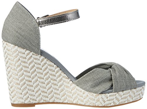 36b9e58eaa8bcf Tommy Hilfiger Women s E1285lena 3D Wedge Sandals  Amazon.co.uk  Shoes    Bags