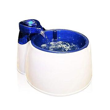 SuyunPP Dispensador De Agua Inteligente para Mascotas Dispensador De Agua para Gatos Y Perros Filtro De Carbón Activado Ultra Silencioso Dispensador De Agua ...