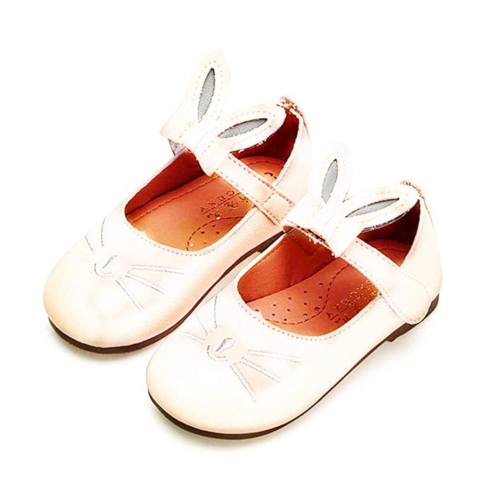 Dolwins Girls Mary Jane Shoes with Bowknot Flat Shoes