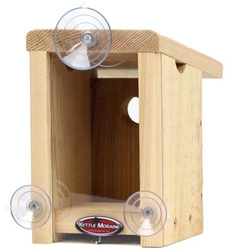 Kettle Moraine Window Mount Bird House Kettle Moraine Woodworking 9110