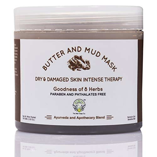 Greenberry Organic's Butter & Mud Mask – Dry & Damaged Skin Intense Therapy 100 GMS