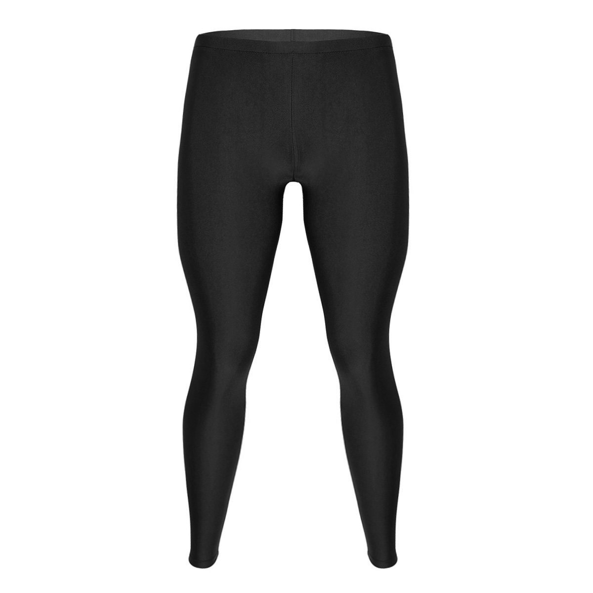 FEESHOW Mens Compression Pants Running Tights Long Skinny Leggings Baselayer Quick Dry Trousers