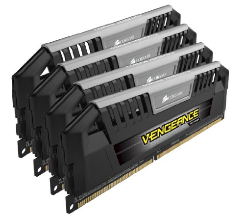 - Corsair CMY32GX3M4A1600C9 Vengeance Pro 32GB (4x8GB) DDR3 1600 MHz (PC3 12800) Desktop 1.5V