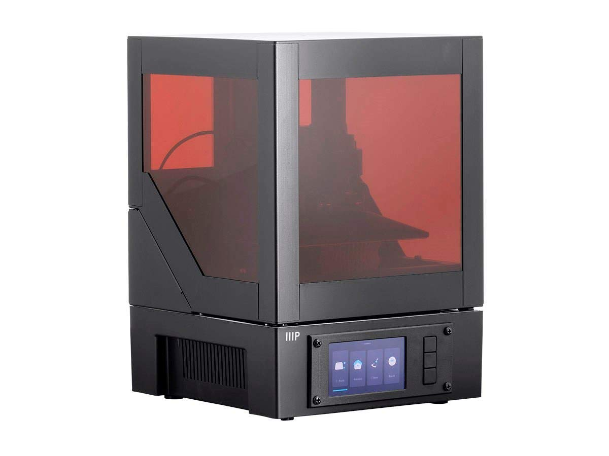 Monoprice Mini SLA LCD Resin 3D Printer (Updated Version) Build Area 118 x 65 x 110 mm, High Resolution, Auto Leveling, Wi-Fi Web UI, 2K LCD Curing ...