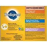 PEDIGREE Chopped Ground Dinner Adult Soft Wet Meaty