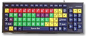 Accuratus kyb-mon2mix-ucuh teclado teclas de Multi Col superior caso [1]