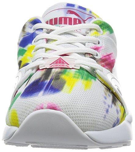 Puma basse donna Blur bianco bianco Weiß 01 Sneakers S Xt Wn's XOxUqrn4Oa