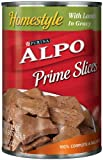 Purina Alpo Prime Slices Lamb Canned Dog Food, 22-Ounce (Pack of 12), My Pet Supplies