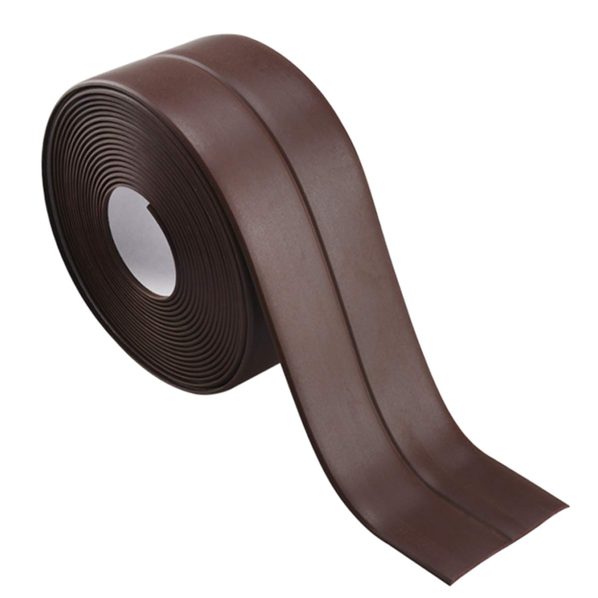 Dooppa Self-Adhesive Caulk Strip, Tub and Wall Sealing Tape Caulk Sealer for Bathroom, Kitchen and Toilet (38mm Width x 3.35m Lenth) (White)
