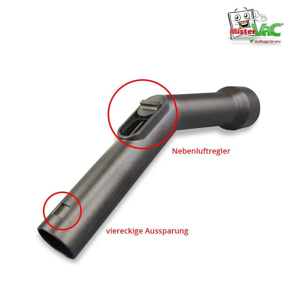 Handgriff geeignet f/ür Miele S5 Ecoline Green Schlauchhandgriff