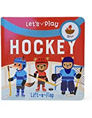 Let's Play Hockey: Chunky Lift a Flap Board Book