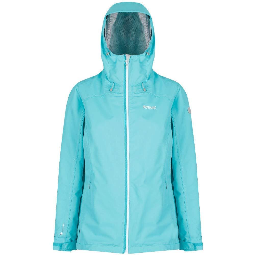 Regatta Womens Hamara Ii Waterproof and Breathable Mesh Lined Hooded Outdoor Active Jacket