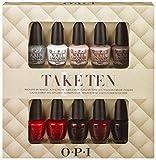 Opi Nail Lacquer 10 Piece set, Take Ten Mini Kit