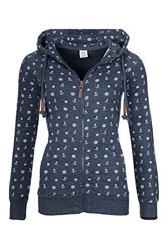 学習弱まるしがみつくレディース 長袖 コート ジャケット 巾着 ジッパー パーカー ポケットフード付き