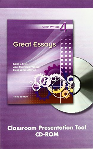 great writing 4 great essays 3rd edition