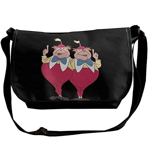 Tweedle Dum And Dee Alice In Wonderland Classic Shoulder Bag Cross Body (Tweedle Dee Fancy Dress)