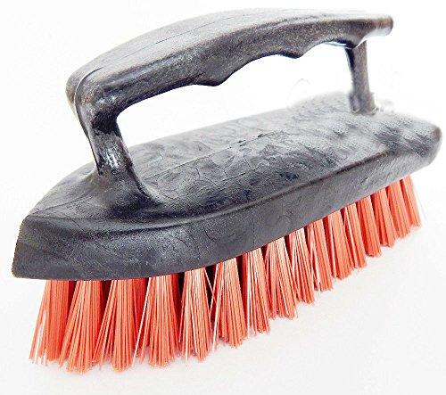 Iron Handle Scrub Brush Scrubber All Purpose Floor Carpet Pet Cleaning Iron Handle Scrub Brush