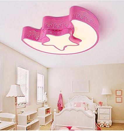 MEIHOME Lámpara de techo Moderna habitación Niños Star Luna ...