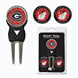 University of Georgia Bulldogs 3 Marker Signature Divot Tool Pack