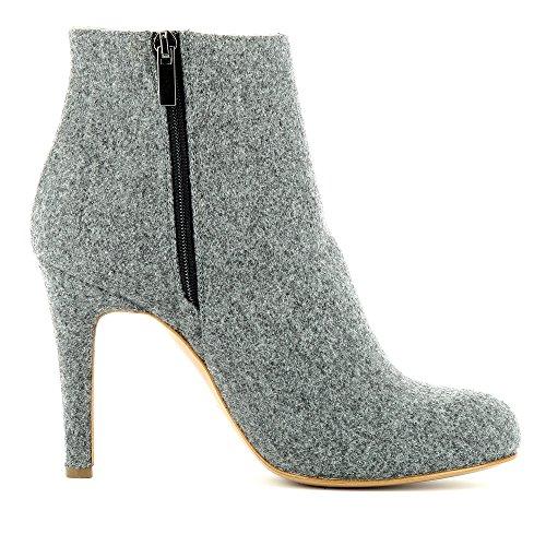 Mujer Medio Cristina Caño Shoes gris Evita Iq81vW