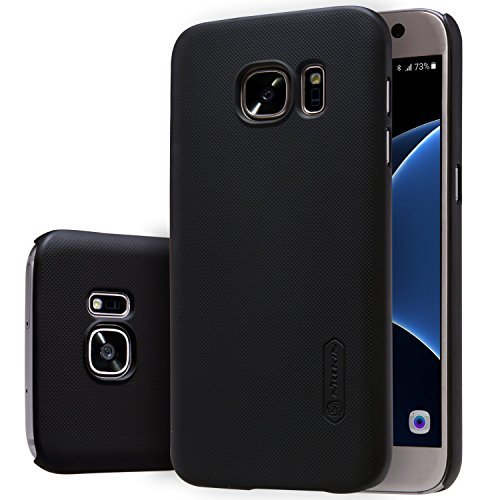 Nillkin Case of Samsung Galaxy S7 S 7 Super Frosted Hard Back Cover PC Black Color