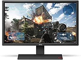 "BenQ RL2755HM Monitor LED de 27"" para Gamers, HDMIx2, Bocinas Integradas, Tecnología Flicker Free Anti Parpadeo, negro"