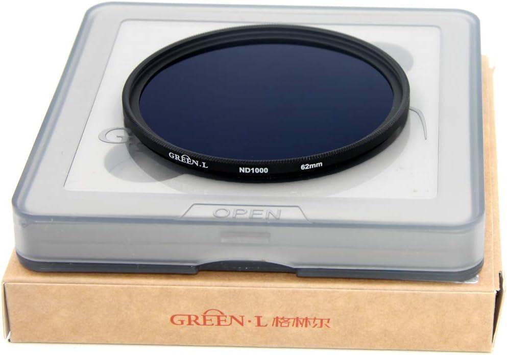 GREEN.L 40.5mm ND1000 Filter Slim Neutral Density ND Filter Optical Glass 10 Stop